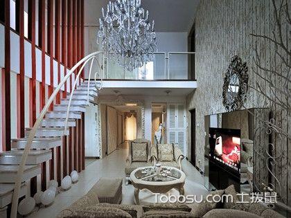 小复式楼梯装修设计,4款特色楼梯装修造型为您推荐