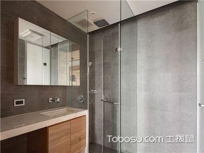 卫生间怎么装修玻璃门才好看?玻璃隔断安装方法为你排忧