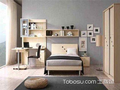 卧室床头书柜图片大全,卧室装修也能展现新花样!