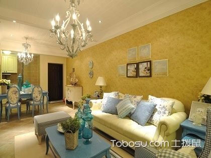 合肥三房两厅两卫装修费用案例,卧室的设计温馨浪漫!