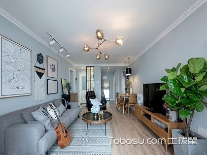 套内85平米装修费用案例,带你走进简约时尚的北欧新房!