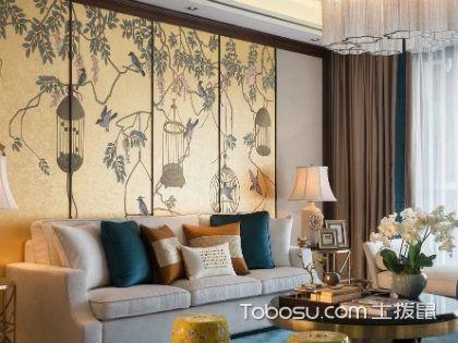 136平新中式三室二厅u乐娱乐平台样板房,引领新中式设计风潮