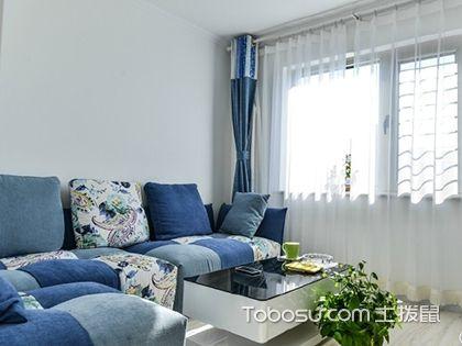60平米一室一厅公寓装修案例,现代简约风格案例分析