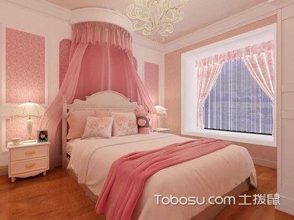 女生卧室装修风格,每个公主都有自己的宫殿