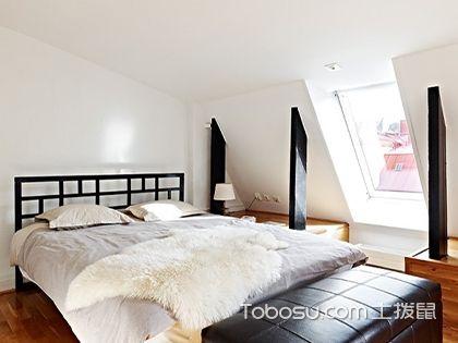 2017不规则卧室背景墙装修效果图,打破空间定势,不再墨守成规