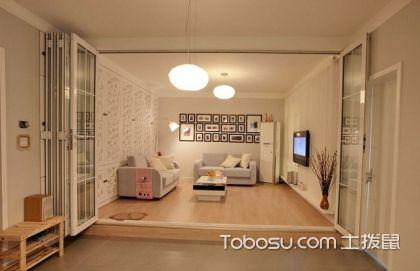 苏州88平米两室一厅极简装修,极简不是简单