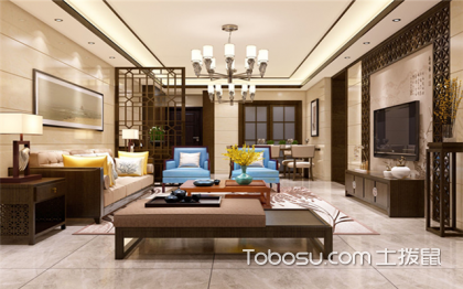 客厅吊灯选择什么尺寸?客厅装修注意事项有哪些?
