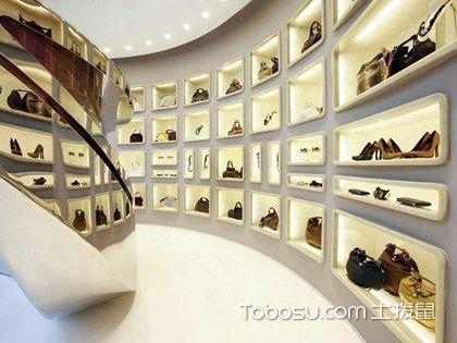 鞋店装修效果图可以体现档次,一定要重视鞋店装修