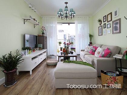 揚州120平米三室兩廳田園裝修風格,家居環境讓人毫無抵抗力