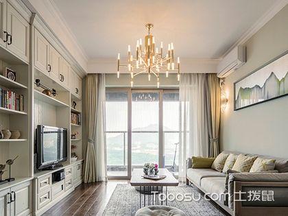 100平米北欧时尚两居装修案例,电视背景墙的设计真是绝妙!