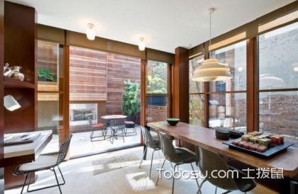 2017美式大户型客厅落地窗效果图,美式风格装修案例