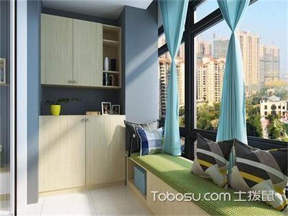 合肥50平米公寓阳台装修效果图,新房装修阳台必备