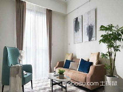 106平米三房两厅怎么装修?简约美式风格案例分析