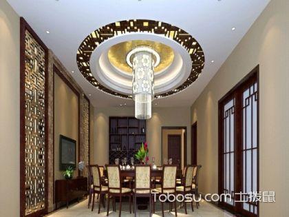 圆形吊顶怎么做?客厅圆形吊顶装修方法