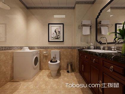 卫生间装修效果图引人注目,只因为卫生间装修这样做