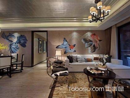 西安100平米中式两室一厅装修效果图,18万打造品质家居