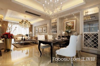 北京100平欧式大户型客厅装修效果图,100平欧式客厅装修