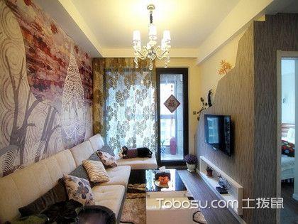78平米兩室一廳裝修圖,穩穩的現代風格