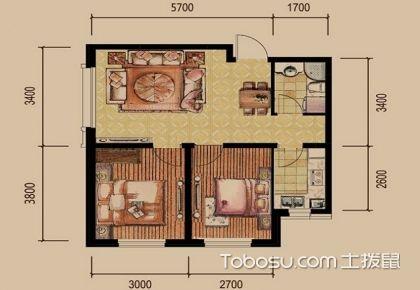 2017上海二居室户型图,从户型图看出好户型