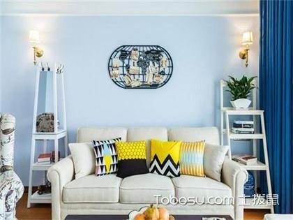 武汉100平米两室一厅美式装修,打破常规的清新美式