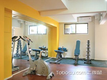 家庭健身房裝修效果圖,生活就是充滿活力