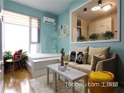 杭州40平小户型住房装修预算,一室一厅住房装修风格推荐