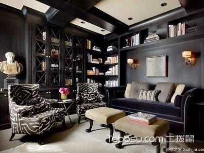 书房装修效果图让你发掘书房中装修的黄金屋与颜如玉