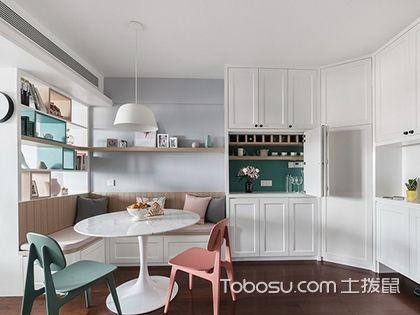 徐州100平米三房优雅美式风格,家里这样装看起来不止100平