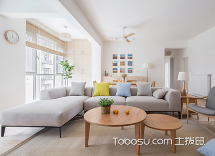 100平成都三室两厅装修案例,打造一个幸福的三口之家