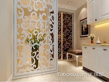 四款玄关隔断雕花装修设计图,打造你家的最美入户风景!