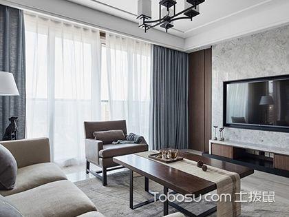 南宁135平中式现代四居装修案例,新中式风格让家充满质朴感