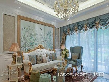 110平法式装修样板间,清新与浪漫并存的装修设计!