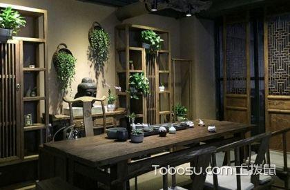 最新小户型中式家庭茶室装修设计,中式茶室装修案例