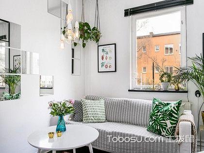 上海60平簡歐公寓裝修,溫馨淡雅兩室一廳
