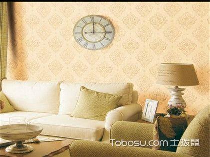 客厅墙布贴什么颜色好?选对墙布家装档次上升不是一点点!