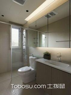 最新小户型卫生间洗漱台布局图,小户型布局欣赏