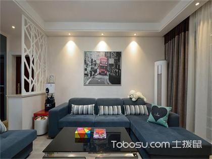 東莞100平米兩室一廳新房裝修價格,現代簡約只要9萬