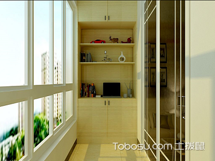 不得不看的陽臺兩邊柜子裝修效果圖,小柜子大作用!