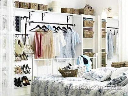 3平米衣帽间装修,小户型卧室衣帽间造型设计方案