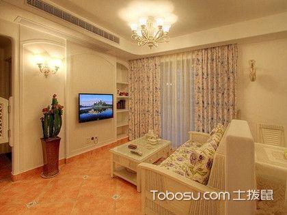 104平三室一厅装修,温馨的碎花田园风格