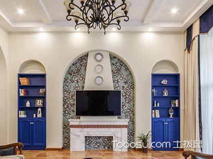 电视墙软装搭配案例鉴赏,你家的客厅也能个性时尚