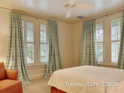 25平米卧室窗帘应该如何选购?四点技巧带你选购窗帘