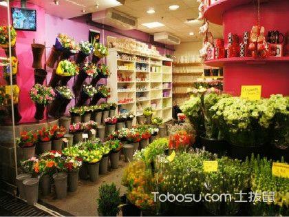 浪漫的鲜花花店,鲜花花店装修这些你都注意了吗?