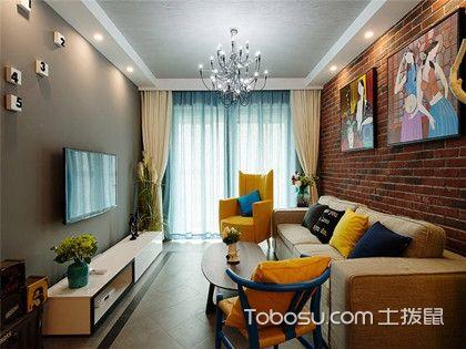 80平二居室装修,混搭出不一样的家
