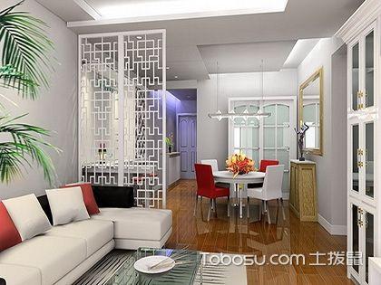 2017大户型客厅布艺沙发摆放效果图,客厅局部之美