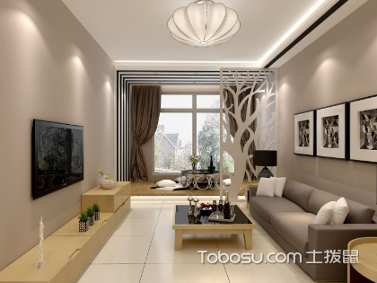 新房客厅太小怎么设计?小客厅装修设计技巧全解