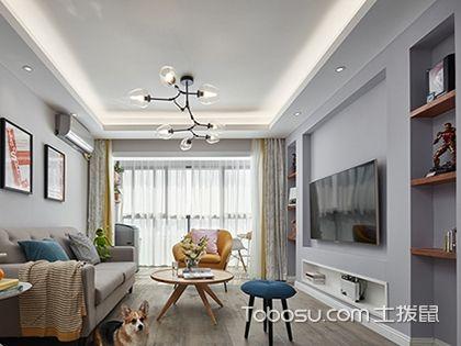 成都80平三房两厅装修案例赏析,感受简约时代的浪漫