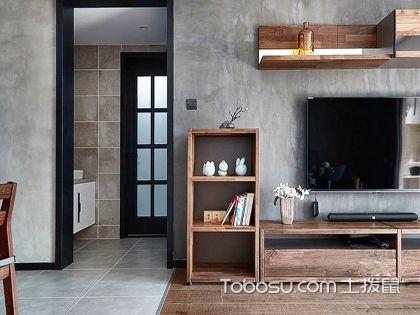 什么是水泥风格,65平米水泥风格公寓装修案例