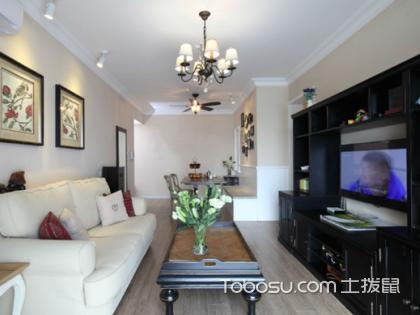 82平米2室1厅简约装修设计,小户型简约风既温馨又大气