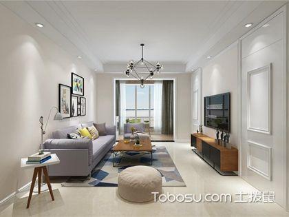 90平米两室一厅装修效果图,用装修尽展90平米的优势